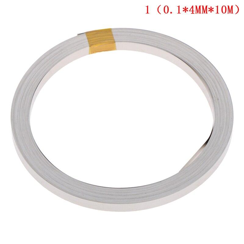 10M 4mmx0.1mm Ni Plate Nickel Strip Tape For Li 18650 26650 Battery Spot Welding New