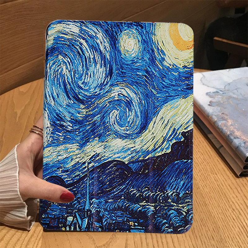 Starry sky Red Tablet Case For Apple iPad 10 2 2019 iPad 7 7th Generation A2200 A2198 A2232 A2197