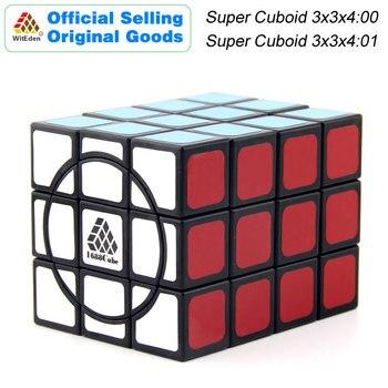 WitEden 1C Super Cuboid 3x3x4:00/01 Magic Cube 1688Cube 334 Speed Twisty Puzzle Brain Teasers Educational Toys For Children super brain