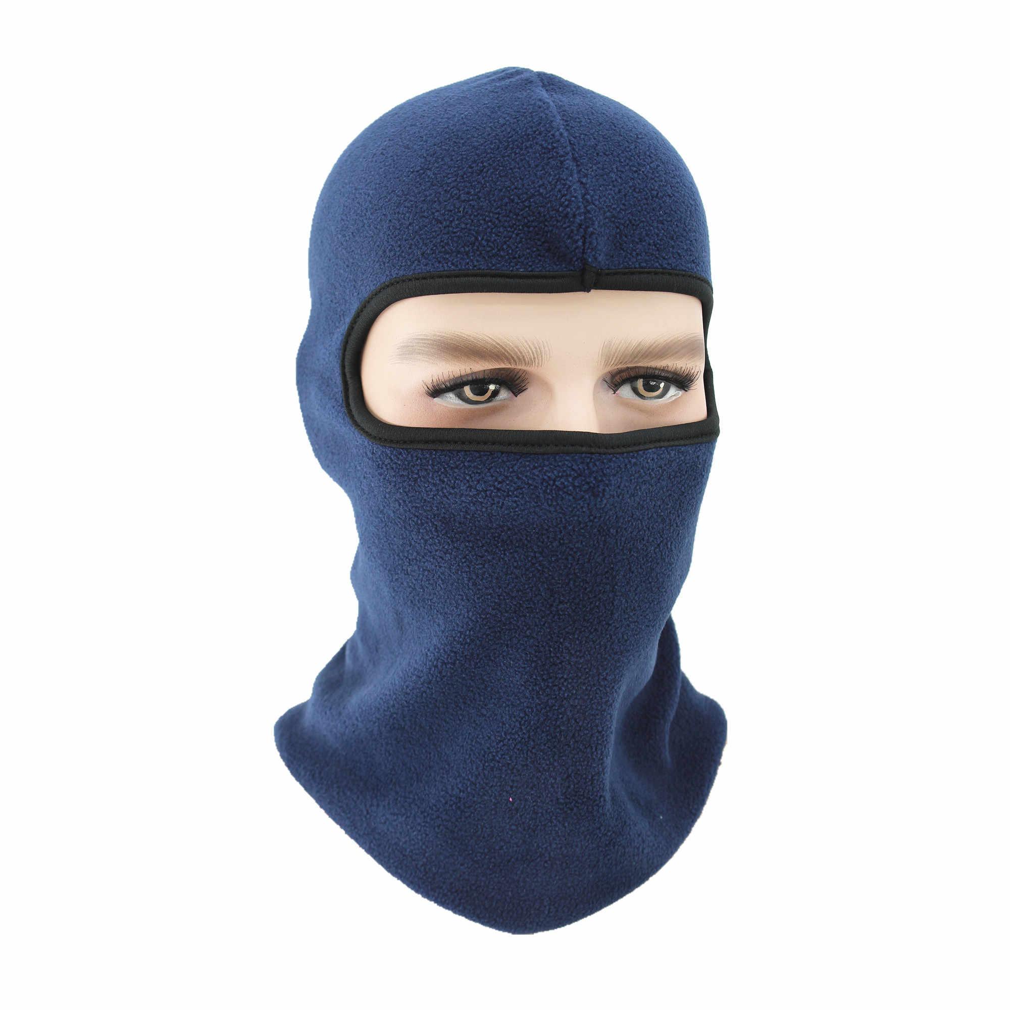 Gorros de lana abrigados de invierno para hombres de camuflaje Bandana cuello calentador mascarilla facial de pasamontañas máscara de fuerzas especiales