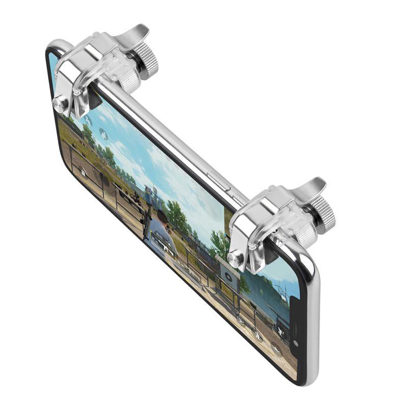 Hot Sale Smart Metal Mobile Phone Trigger Games For Pubg Mobile Gamepad Fire Button Target Key L1 R1 Shooter Pubg Controller