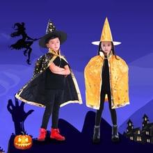 Детский костюм для ролевых игр на Хэллоуин, плащ для Маскарадного костюма, костюмы, наряды, реквизит, фуляр femme bufandas invierno mujer