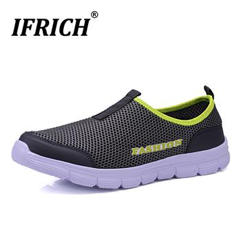 Pary buty do wody lekkie sportowe buty wodne dla mężczyzn kobiety szybkie suche tenisowe sandały plażowe Upstream Trekking buty górskie brodząc tanie i dobre opinie ifrich CN (pochodzenie) Pasuje prawda na wymiar weź swój normalny rozmiar Spring2019 Slip-on Zaawansowane Masaż Mesh (air mesh)