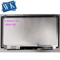 N156BGE E31 N156BGE E31 for hp TPN c125 LCD Display LED Screen Matrix for Laptop 15.6 HD 1366X768 30Pins Replacement Slim