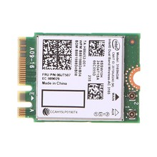 Для In-tel Dual Band Bluetooth Wireless-AC 3165 BT4.0 2,4G/5G 433M NGFF NGW Card