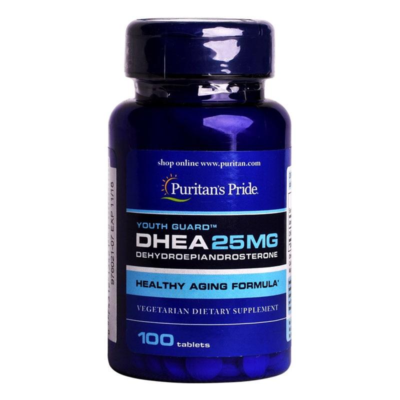 DHEA 25 Mg DEHYDROEPIANDROSTERONE 100 Pcs
