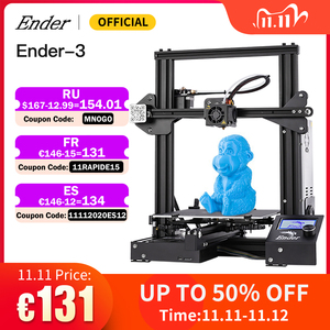 Image 1 - Hot Sale Ender 3 Kit 3D Printer Large Size Ender 3X Printers 3D Continuation Print Power Creality