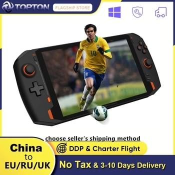 ONEXPLAYER 8.4inch Handheld Switch 2.5K Windows10 Pro intel i7 1195G7 16G/1TB Notebook Gamer Playstation Gaming Laptop Tablet 1