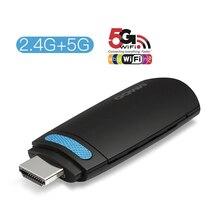 GGMM Mini Dongle para TV, con Android, HDMI HD, 1080P, wi fi inalámbrico, llave electrónica con pantalla Miracast 5G, alta velocidad, AirPlay, DLNA, para YouTube, ios