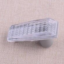 Indicador lateral de luz de guardabarros para mercedes benz W124 R129 W140 W202 W201 5014196, indicador de señal de giro transparente