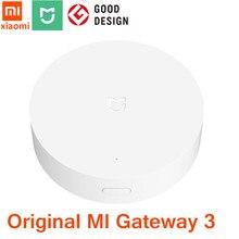 Xiaomi mijia gateway 3 inteligente multi-modo gateway, zigbee, wi-fi, protocolo bluetooth, controle remoto inteligente