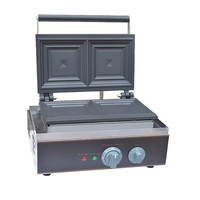 Fy-113A Waffle pişirme sandviç Waffle Muffin Maker makinesi