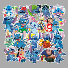 Anime Stickers Stitch Lilo and 55PCS On Laptop Decor For Pad Notebook Luggage Sticker Children