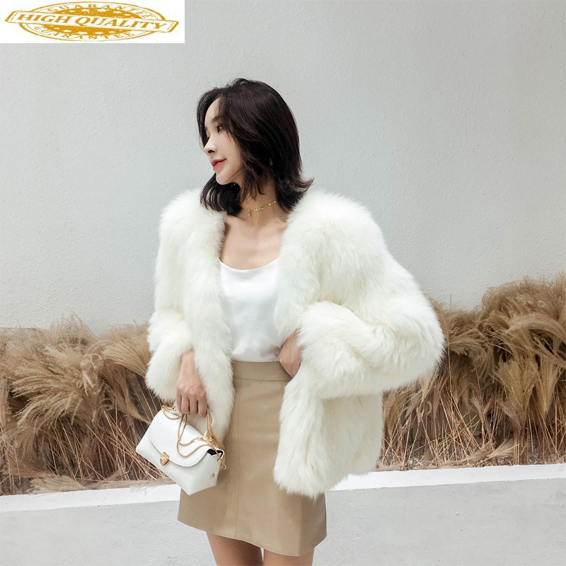 Real Fox Fur Coat Female Jacket Winter Jacket Women Clothes 2020 Natural Fur Korean Jackets Outwear Chaqueta Mujer MY