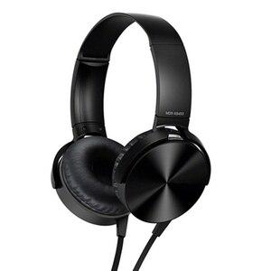Image 4 - 3.5mm אודיו על אוזן אוזניות עם מיקרופון מחשב לוח מחשב נייד מחשב נייד מתקפל שטוח סטריאו בס אוזניות אוזניות עם 1.2M כבל