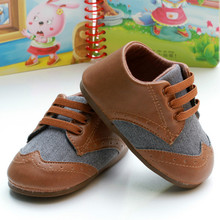 Baby Shoes Boys PU Leather Non-slip Infant Baby