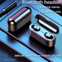 2021 TWS 5.0 Wireless Button earplugs Bluetooth Earphones Portable Sports Bluetooth Wireless Stereo Headset