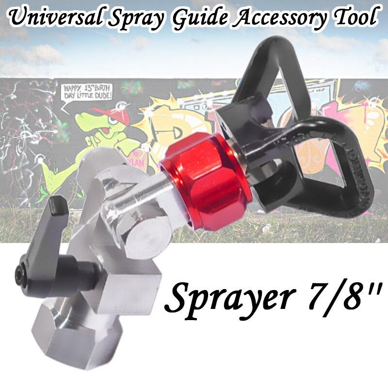 7/8'' Universal Spray Guide Accessory Tool For Paint Sprayer 7/8'' Pressure Spray Gun Universal Airless Spraying Machine
