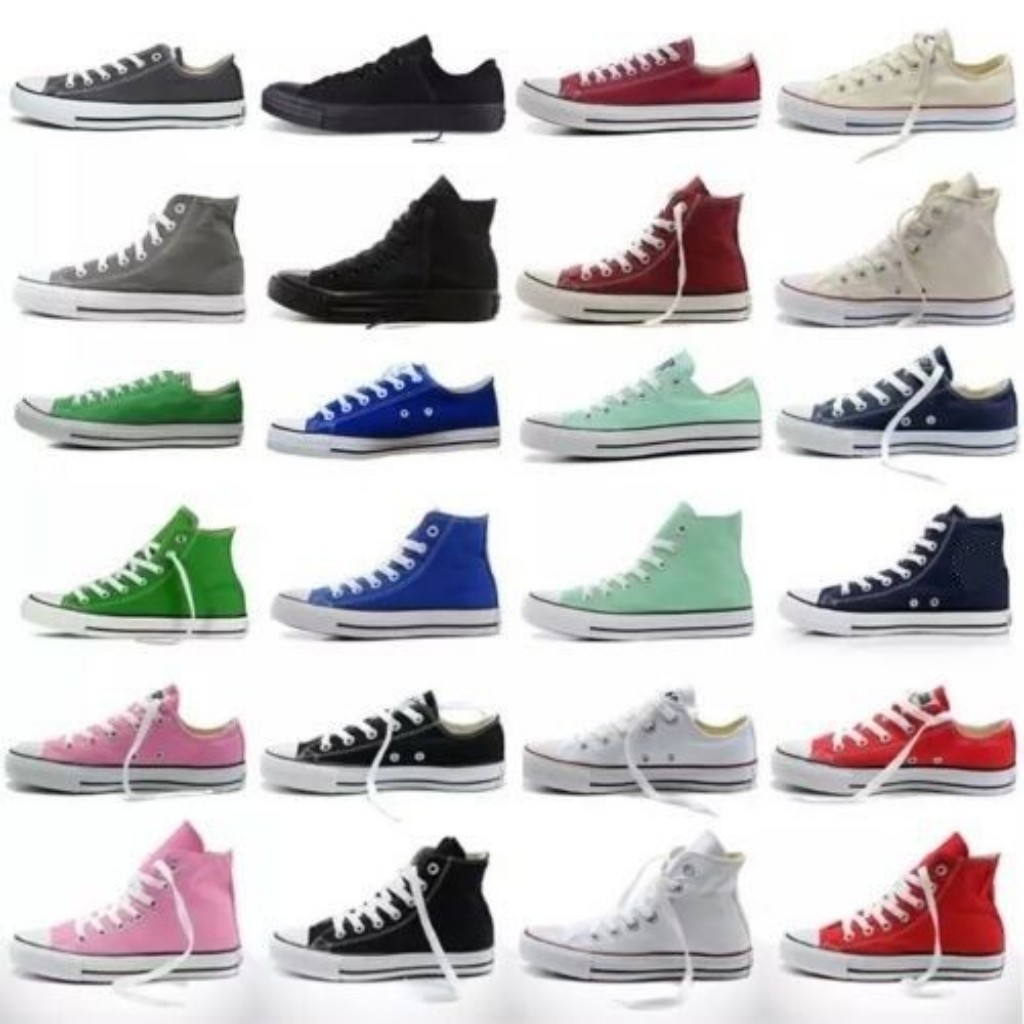 Womens Ladies Girls Authentic Classic Allstar Chuck-Taylor-Ox Designer Canvas Shoes High Low Top Vulcanize Athletic Sneakers