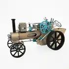 Modèle de voiture rétro tout métal créatif Surwish Kit de modèle électrique assemblé haut défi