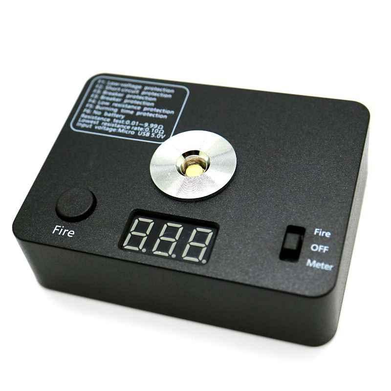 الأفضل!-جهاز اختبار المقاومة أوم متر 521 Tab Led لفائف الأسلاك لتقوم بها بنفسك أداة ل E السجائر 510 موضوع Rda Rba لتقوم بها بنفسك خزان