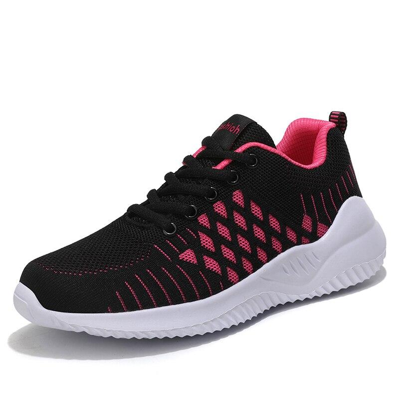 Summer Women Shoes Outdoor Fashion Casual Women Sneakers Flats Mesh Light Shoes For Woman Winter Ladies Fur Walking Shoes 42