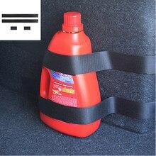 4 шт./компл. ремень для автомобильного огнетушителя для Skoda Fabia 2 3 Karoq Kodiaq Octavia 3 Superb 2 3 Combi Yeti, автомобильные аксессуары