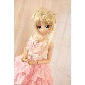 [wamami] Pink Dress 3pcs Suit Outfits For 1/4 MSD 1/6 1/3 DD SD DZ MSD BJD Dollfie