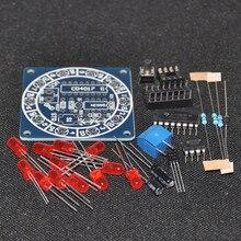 Wheel Of Fortune NE555 CD4017 Kit Electronic DIY Bricolaje Trousse Electronica