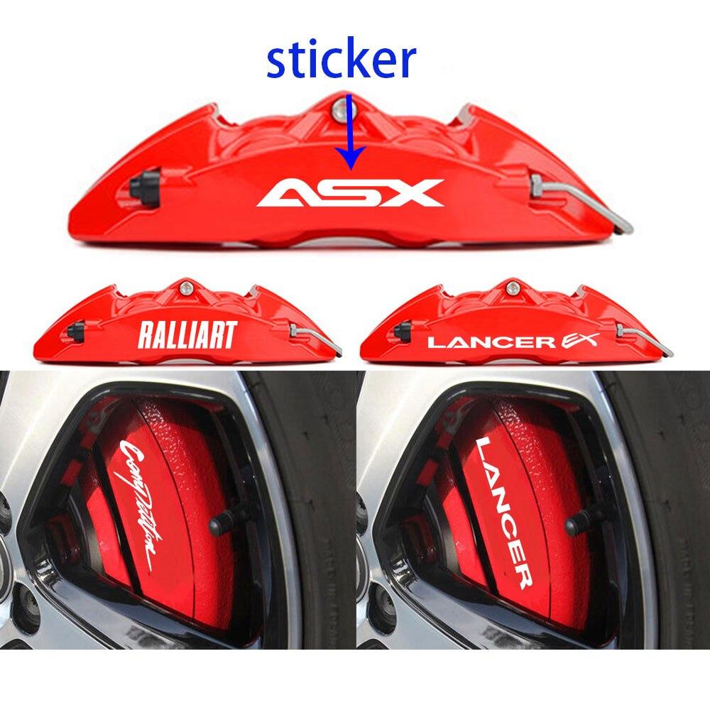 MITSUBISHI Premium Brake Caliper Decals Stickers x 6