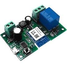 1CH одноканальный Jog Switch модуль WiFi реле беспроводное приложение голосовой пульт дистанционного управления синхронизация интеллектуальный пульт дистанционного управления