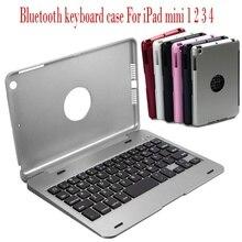 Tragbare Drahtlose Bluetooth Tastatur Fall Abdeckung Für Apple iPad Mini 1 2 3 4 Bar Pub Hause Wand-dekor Retro metall Kunst Poster