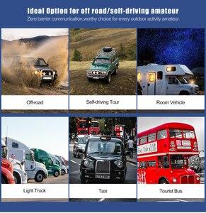 Image 5 - Retevis RA25 רכב נייד רדיו UV Dual Band/GMRS TFT תצוגת 20W מכשיר קשר לרכב 500/30CH רכב דו דרך רדיו חובבים משאית
