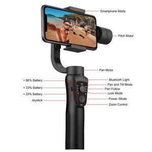 Image 3 - EKEN S5B 3 ציר gimbal כף יד מייצב נייד וידאו שיא Smartphone Gimbal עבור טלפון פעולה מצלמה VS H4