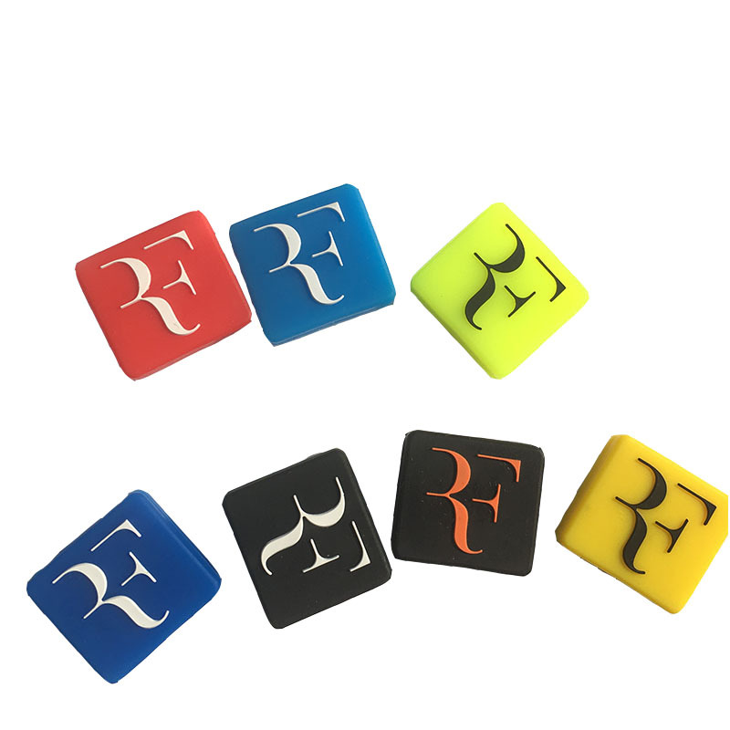 5pcs F Letter Tennis Vibration Dampener To Reduce Tenis Racquet Vibration Dampeners Raqueta Tenis