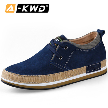 Fashion shoes 2019 Leather Sneakers Man Height Increase 7.1 CM Mans Shoes Merkmak Mens Leather Shoes Genuine Mocacines Hombre 37