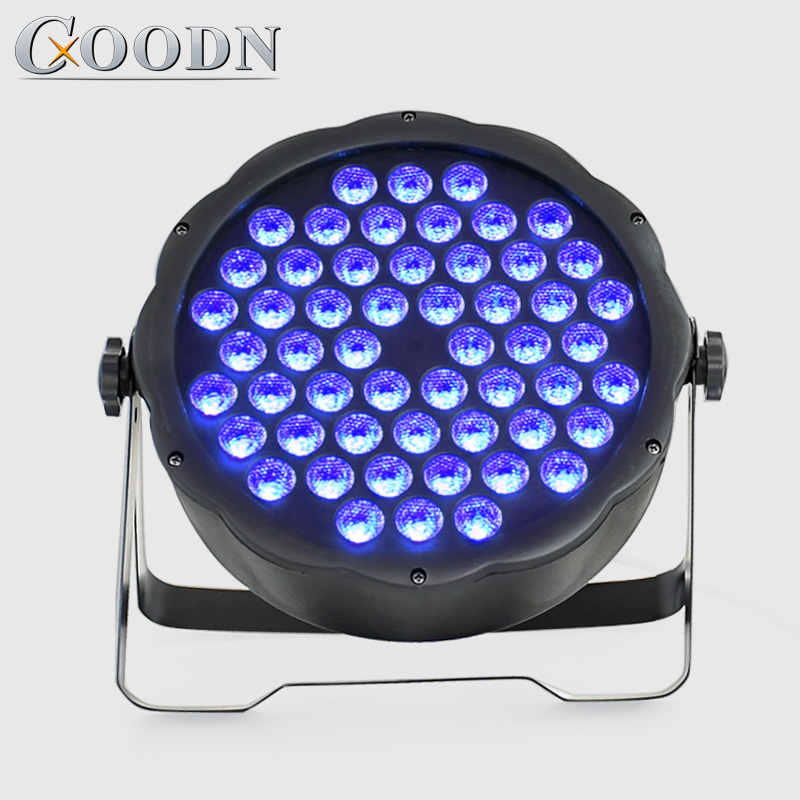 LED Par Lights 54x3W DJ LED RGB Par Lights DMX Wash Disco Light DJ Effect For Paty KTV Stage Lighting