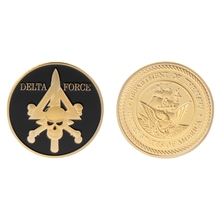 Commemorative Coin Delta Force American Army Team Collection Arts Gifts Souvenir
