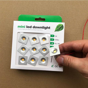 Image 2 - 9 Stks/partij DC12V 1W Mini Led Downlight Bridgelux Chip Waterdichte IP65 Led Spot Licht Led Kast Licht Nieuwe Ontwerp