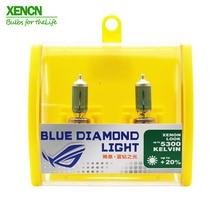 XENCN H11B 12 В 55 Вт 5300 к синий бриллиант светильник автомобильные лампы Замена апгрейд противотуманные галогеновые лампы для Ford hyundai Kia 30% больше света 2Pos