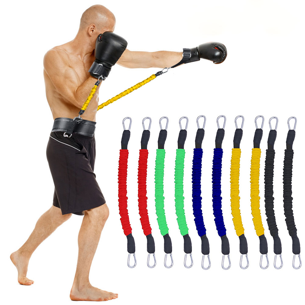 Power Guidance Booty Band Resistance Band Exercise Belt Bounce Trainer Rope Gym Sports Fitness Boxing Stretching Jump Workout