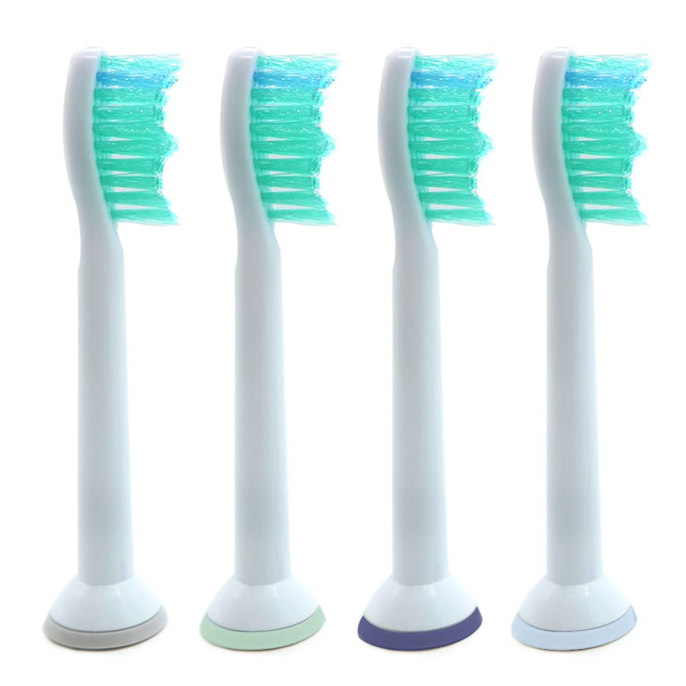 4pcs/lot Replacement Toothbrush Heads For Philips Sonicare ProResults HX6013/66 HX6930 HX9340 HX6950 HX6710 HX9140 HX6530