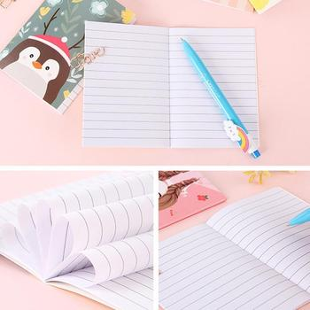 Kawaii notatnik lepkie zakładka do zeszytu mini notebook dostarcza klocki naklejki papier do pisania biuro notesy szkolne punkt N9G4 tanie i dobre opinie VIVIDCRAFT paper