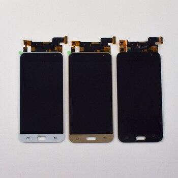LCD untuk Samsung Galaxy J3 2016 LCD Layar SM-J320 J320A J320F LCD J320H J320M J320FN Layar Sentuh Display LCD Perakitan bingkai
