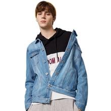 SEMIR denim Jacket men jaqueta masculino cotton clothes fashion casual jackets man outwear Spring turn down collar demin coat