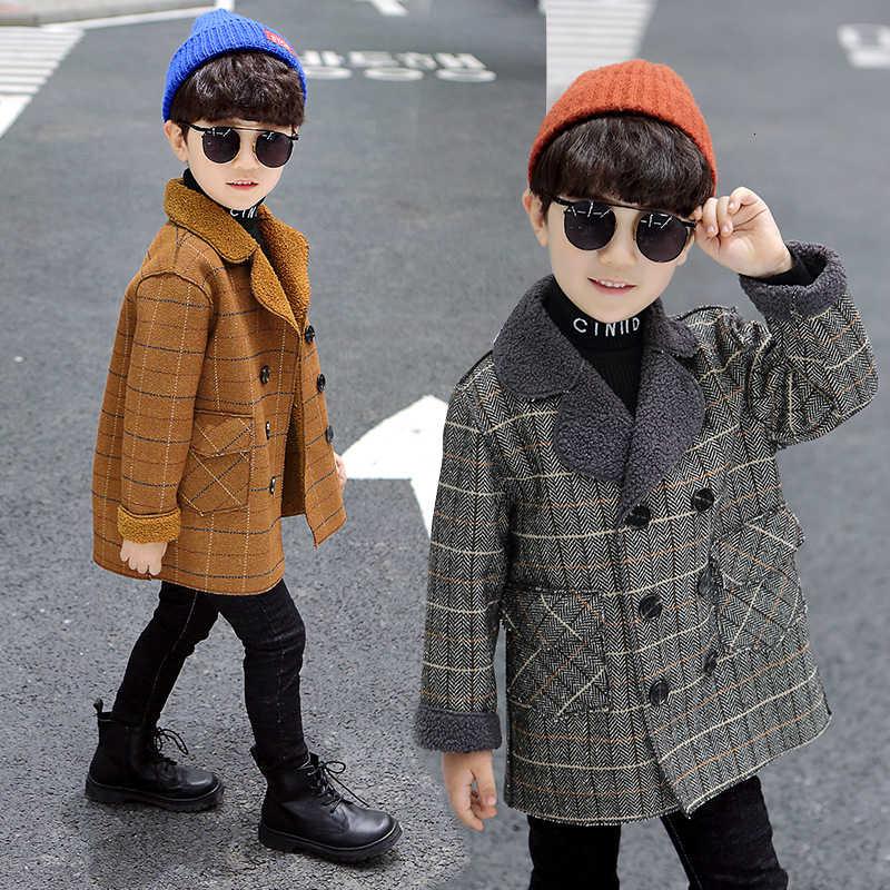 เด็ก Kid ปุ่ม Casual Blazer แจ็คเก็ต Casual Slim Fit Outwear Coat น่ากลัว 2-10 ปี