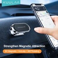KUULAA-Soporte de teléfono móvil para coche, accesorio de rotación de 360 grados para iPhone 12 11 8