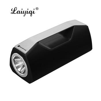 Laiyiqi-potente linterna LED con bluetooth, resistente al agua, altavoz inalámbrico portátil SOS...
