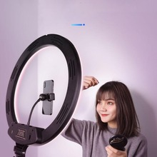Light Tripod Youtube-Lamp Makeup Phone Selfie-Stand Photo-Video-Camera Dimmable Live-Fill