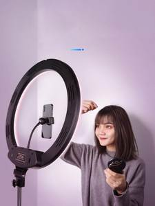 Ringlight For Makeup Live Fill Light Ring Light LED Selfie Stand Tripod Dimmable YouTube Lamp Photo Video Camera Phone